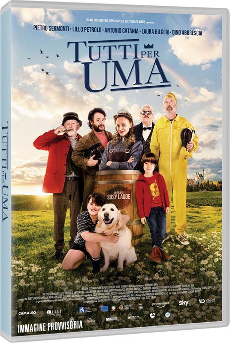 Tutti per Uma (DVD) di Susy Laude - DVD