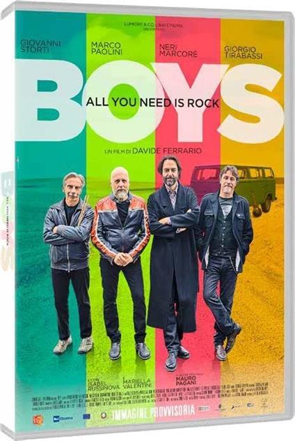 Boys. All You Need Is Rock (DVD) di Davide Ferrario - DVD