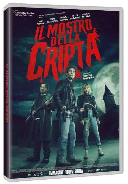 Il mostro della cripta (DVD) di Daniele Misischia - DVD