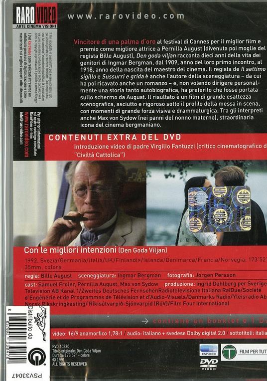 Con le migliori intenzioni di Bille August - DVD - 2