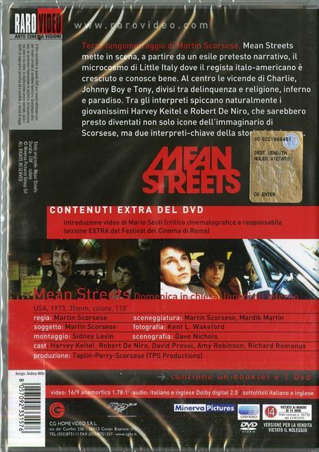 Mean Streets di Martin Scorsese - DVD - 2