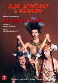 Aldo, Giovanni e Giacomo. Tel chi el telùn (2 DVD)