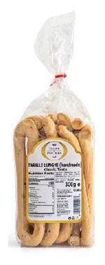 Taralli Lunghi Fatti a Mano gusto classico