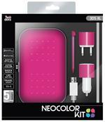 Twodots Neocolor Kit Custodia a sacchetto Nintendo Rosa