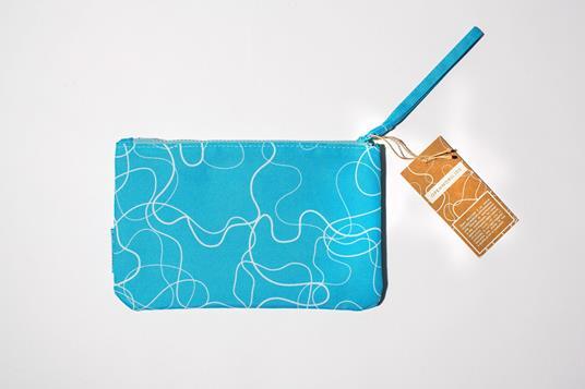 Zip Pocket small- Acqua Azzurra