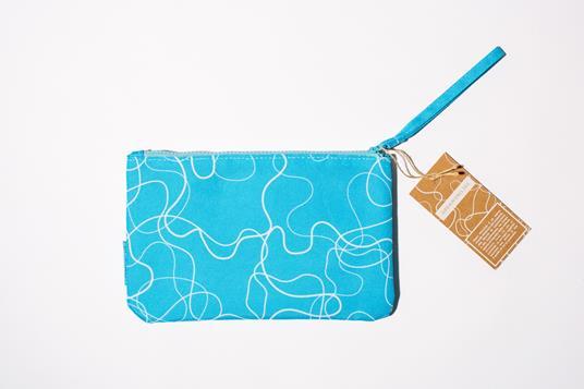 Zip Pocket small- Acqua Azzurra - 2