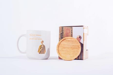 Tazza Mug OpenWorlds Lettura Sherlock Holmes con coperchio - 2