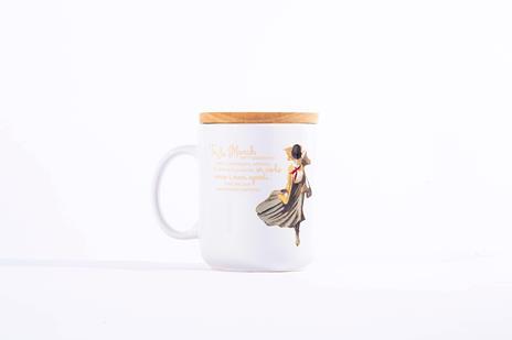 Tazza Mug OpenWorlds Lettura Piccole Donne con coperchio
