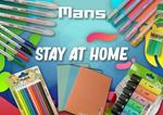 Kit Scuola Mans Stay At Home