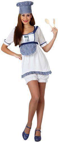Costume Donna Cuoco Ml 158011 - 50