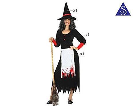 Costume per Adulti Strega M/L - 4