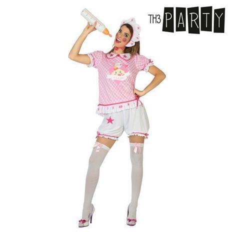 Costume per Adulti Neonato Rosa M/L - 2
