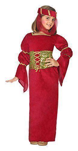 Costume per Bambini Th3 Party Dama medievale - 80