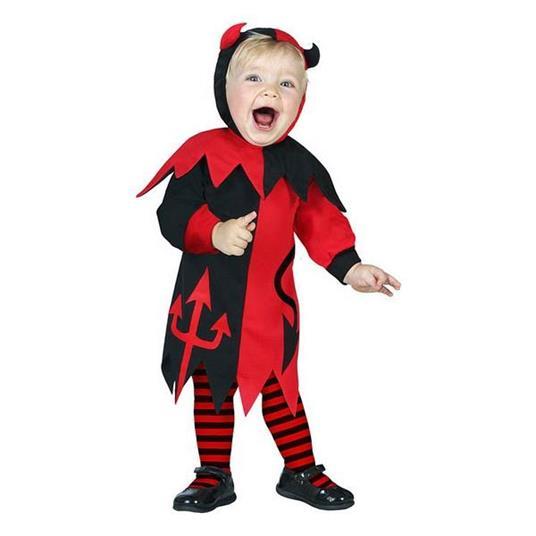 Costume Per Neonati Demonio Donna (24 Mesi)