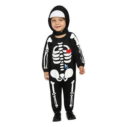 Costume Per Neonati Scheletro (24 Mesi)