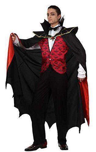 Costume Vampiro Rosso 93583 - 5