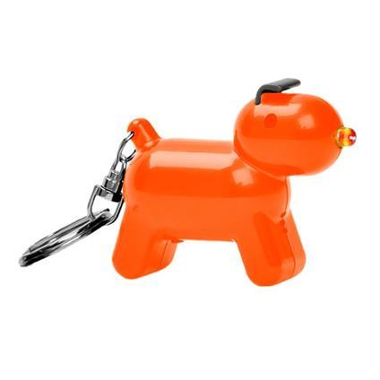 Portachiavi Doggy consuono arancio 3xAG13