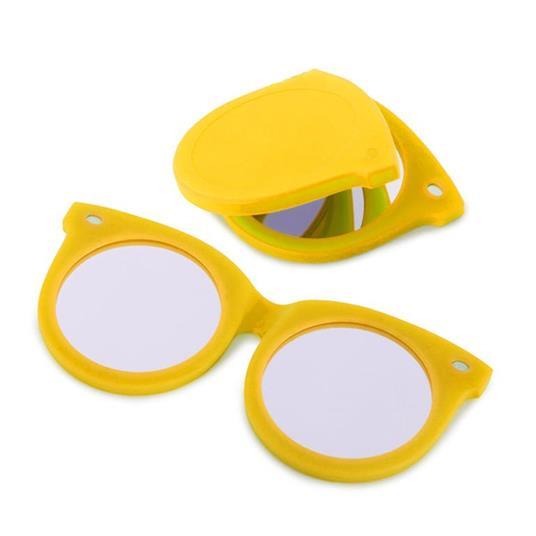 Specchiotascabile Shades giallo