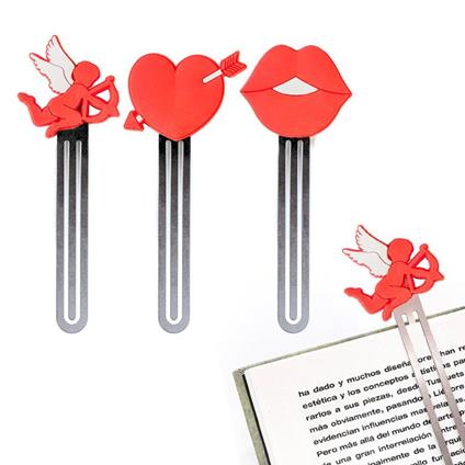 Segnalibro Romance x3 PVC