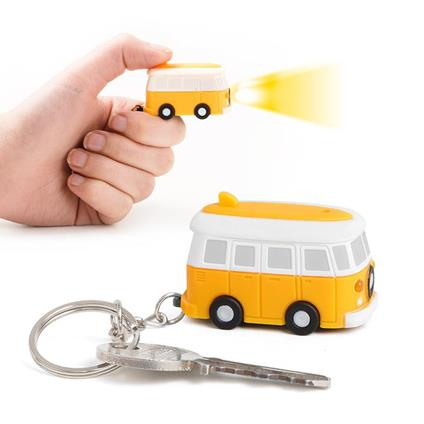 Portachiavi Van sonoro giallo