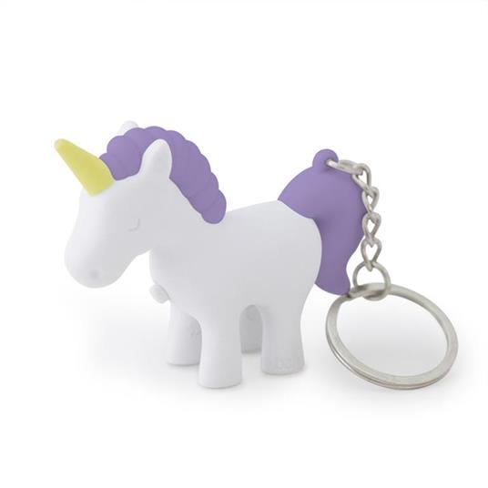 Portachiavi Unicorn conluce lilla 3xLR41