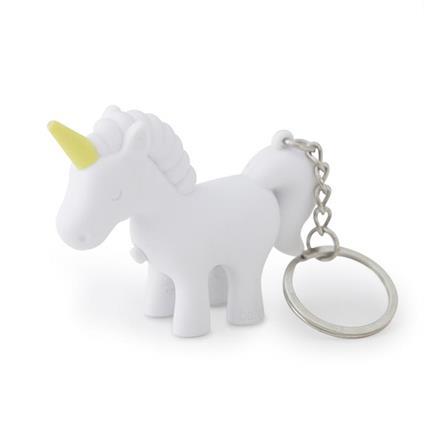 Portachiavi Unicorn conluce bianco 3xLR41