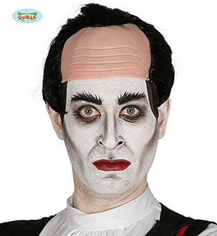 Parrucca calvo vampiro Dracula halloween carnevale