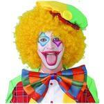 Maxi Papillon Clown A Scacchi Multicolor 30 Cm - 2