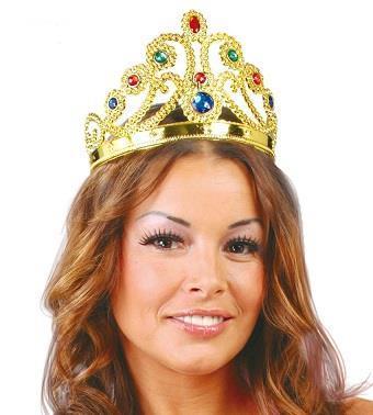 Corona Regina Regolabile Oro