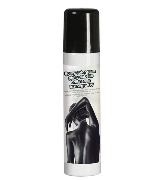 Trucco Spray Corpo E Capelli Nero Body Painting 75 Ml