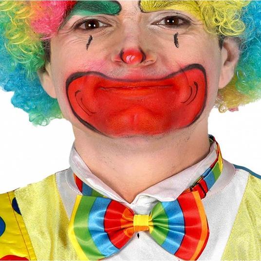 Papillon clown multicolor