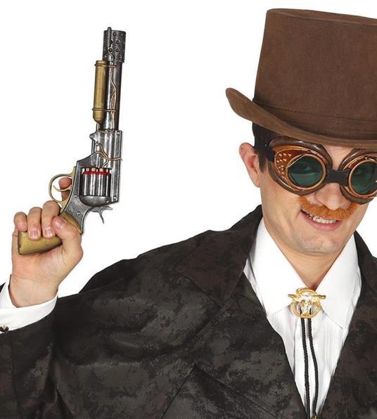 Revolver Steampunk 30 Cm In Plastica - 2