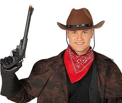 Pistola giocattolo cowboy in plastica cm 43