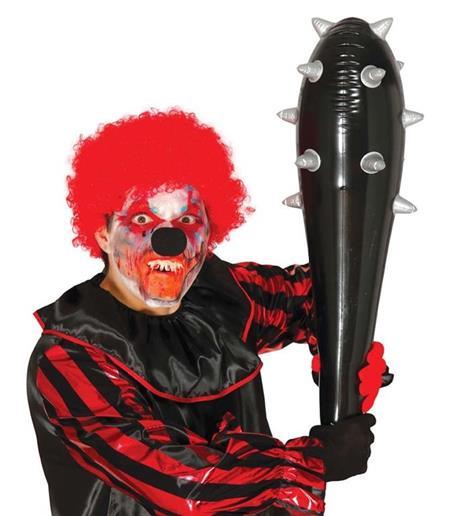 Mazza Chiodata Gonfiabile 80 Cm Clava Horror Halloween