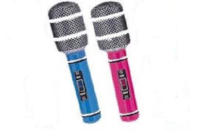 Microfono gonfiabile cm50