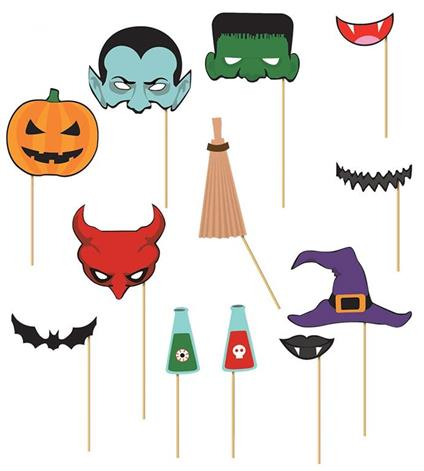 Set Photocall Di Halloween