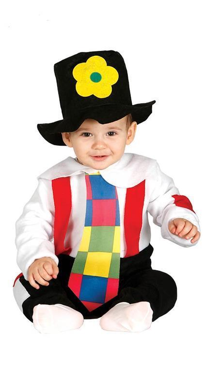 Vestito Vagabondo Clown Baby 1-12 Mesi