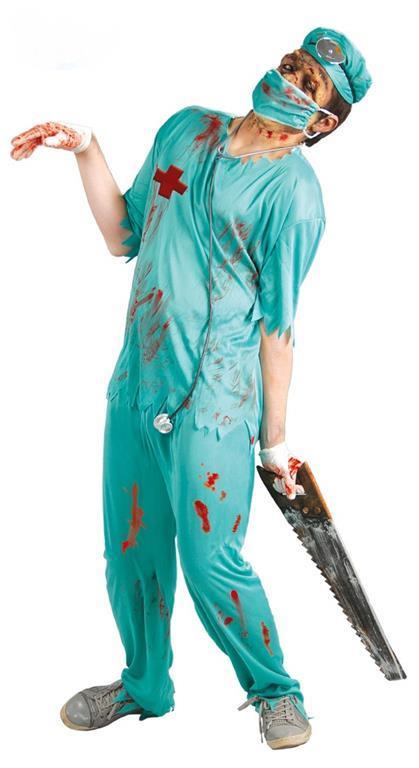 Vestito Chirurgo Zombi M / L - 2