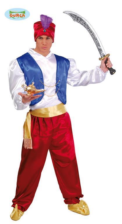 Costume Arabo Aladino Taglia Unica