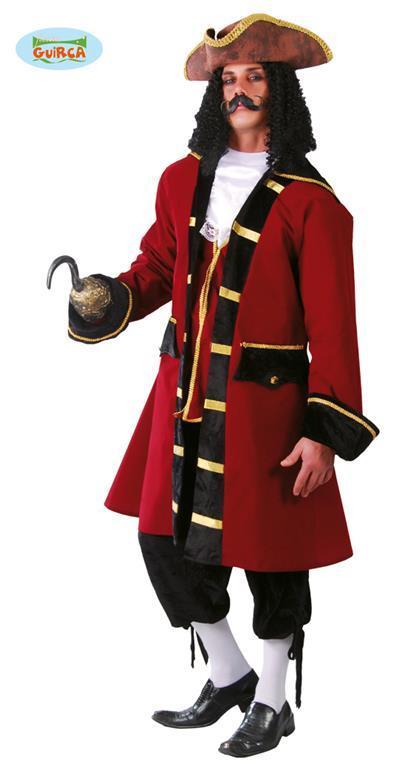 Vestito Capitan Da Pirata Unica