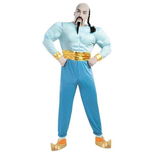 Costume Genio della Lampada Aladdin - 4