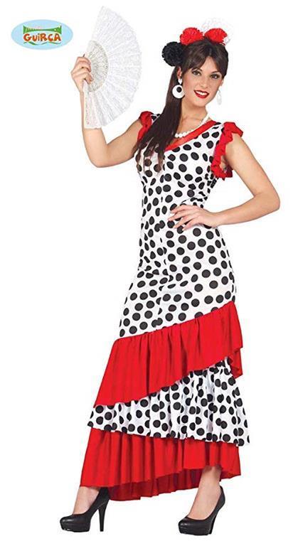 Vestito Flamenco Spagnola L - 4