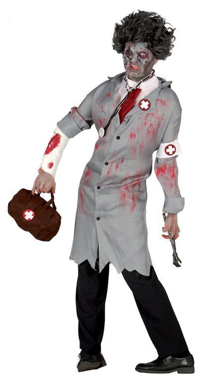 Vestito Dottore Del Terrore M / L - 2