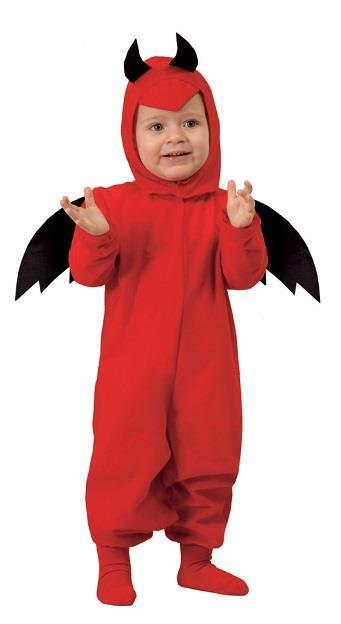 Costume Diavoletto Rosso Bambino Halloween - 4