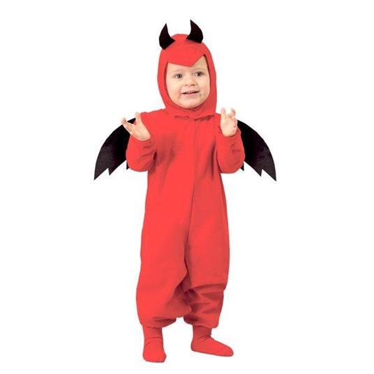 Costume Diavoletto Rosso Bambino Halloween - 3