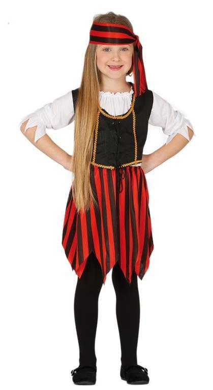 Vestito Corsara Pirata 5-6 Anni - 2