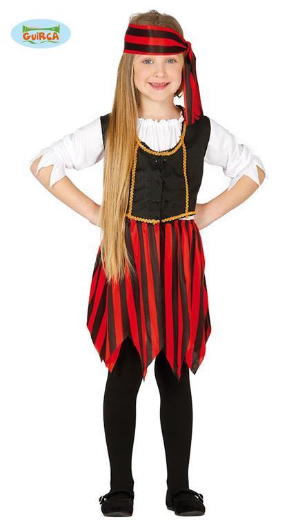 Vestito Corsara Pirata 5-6 Anni - 5