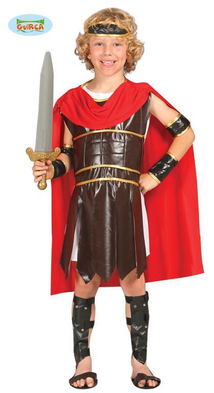 Costume ercole soldato romano. Da 7 anni