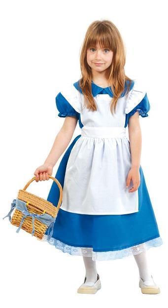 Vestito Alice 5-6 Anni