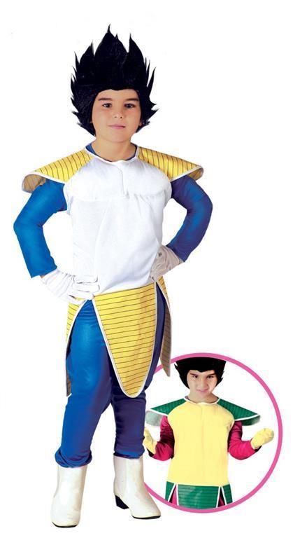 Vestito Super Sayan Samurai 5-6 Anni